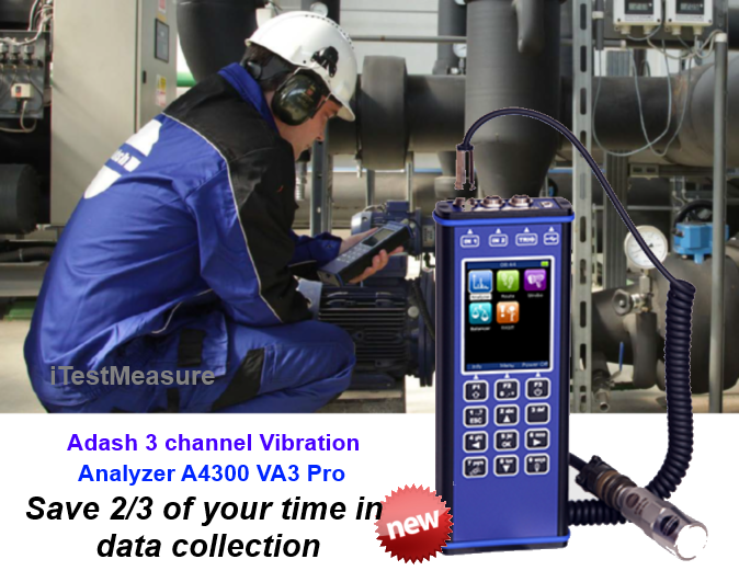 Adash VA3Pro, DDS2016 for vibration monitoring