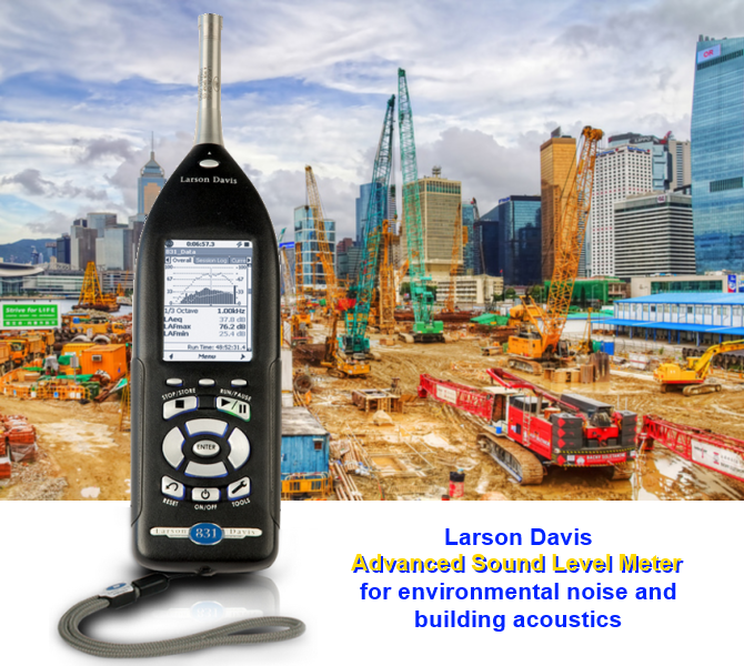 Larson Davis 831 Sound Level Meter; IEC651; IEC804