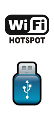 wifi hotspot, USB stick support by SoundAdvisor
